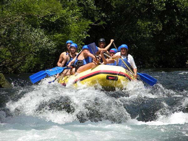 rafting cetina rio