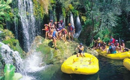 rio cetina rafting